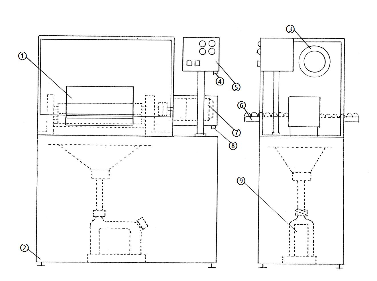ローラー吸水乾燥機